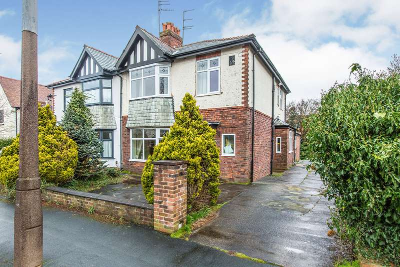 3 Bedrooms Semi Detached House for sale in Brooklands Avenue, Fulwood, Preston, Lancashire, PR2