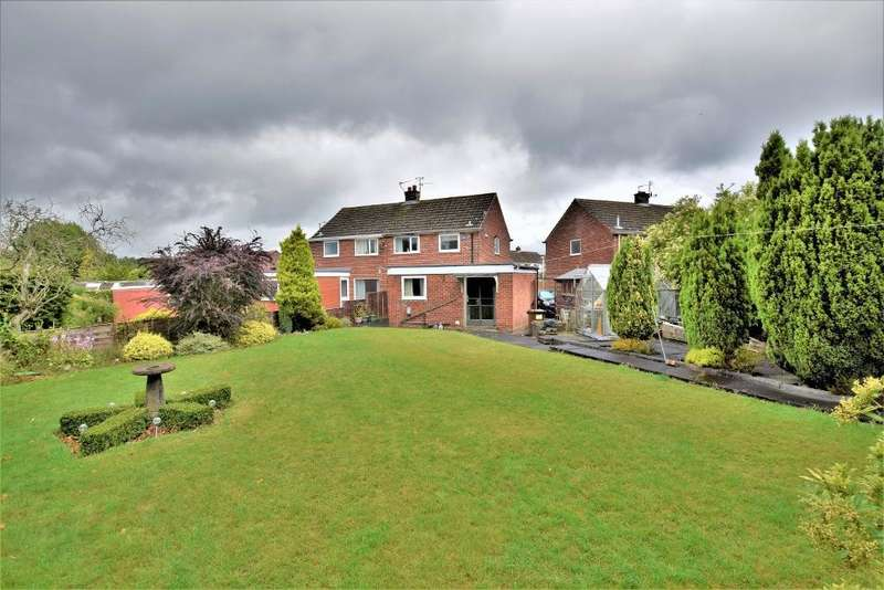 2 Bedrooms Semi Detached House for sale in Buttermere Close, Fulwood