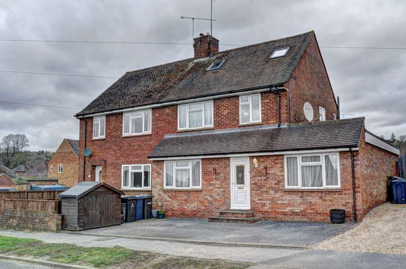 4 Bedrooms Semi Detached House for sale in Waborne Road, Bourne End