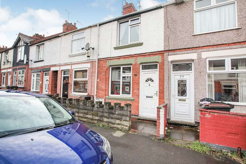 2 Bedrooms House for sale in Clifton Road, Nuneaton, Warwickshire, CV10