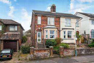 3 Bedrooms Semi Detached House for sale in Weald View Road, Tonbridge, Kent, .