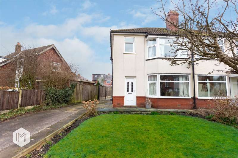 3 Bedrooms Semi Detached House for sale in Weythorne Drive, Bury, Greater Manchester, BL9
