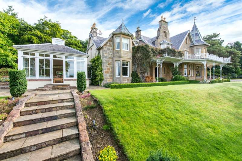 6 Bedrooms Detached House for sale in Kessock House, Old Craigton Road, North Kessock, Inverness, IV1