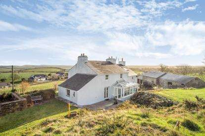 4 Bedrooms Detached House for sale in Llanfairynghornwy, Holyhead, Sir Ynys Mon, LL65