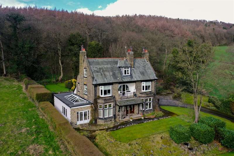 5 Bedrooms Detached House for sale in Hollins Hill, Baildon, BD17 7QP