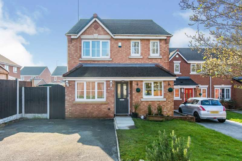 3 Bedrooms Detached House for sale in Penwell Fold, Skelmersdale, Lancashire, WN8