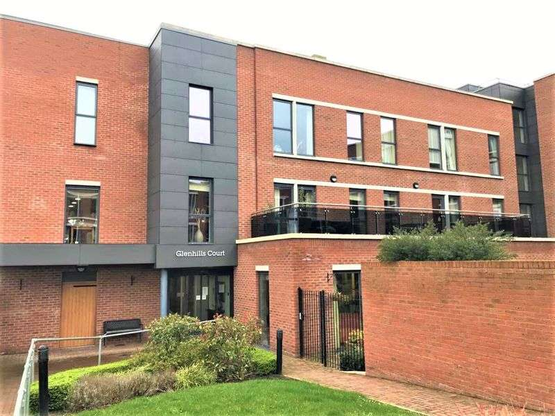 1 Bedroom Property for sale in Glenhills Court, Leicester: **STUNNING GROUND FLOOR APARTMENT WITH SHELTERED PATIO AREA**