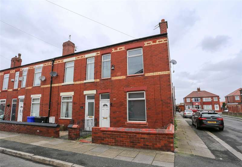 2 Bedrooms End Of Terrace House for sale in Booth Street, Denton, Manchester, M34