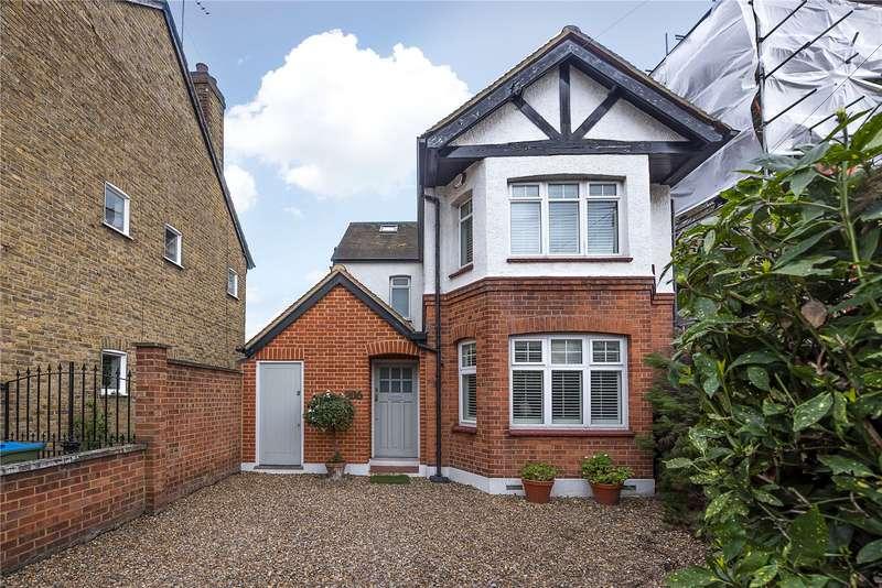 5 Bedrooms Detached House for sale in Uxbridge Road, Hampton Hill, Hampton, TW12