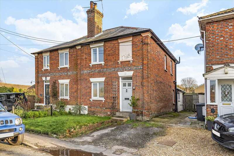 2 Bedrooms Semi Detached House for sale in Waterloo Terrace, Anna Valley, Andover