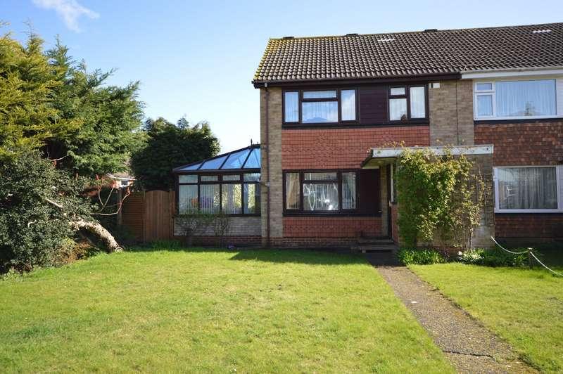 3 Bedrooms End Of Terrace House for sale in Wakeley Road, Rainham, Gillingham, Kent, ME8
