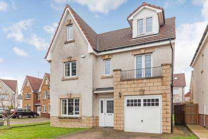 5 Bedrooms Detached House for sale in Langhaul Court, Glasgow