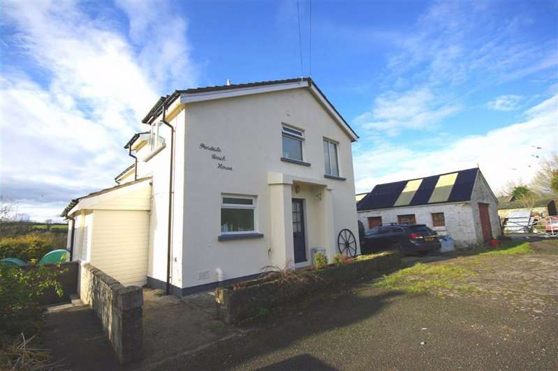 4 Bedrooms Detached House for sale in Pendeilo, Nr Amroth