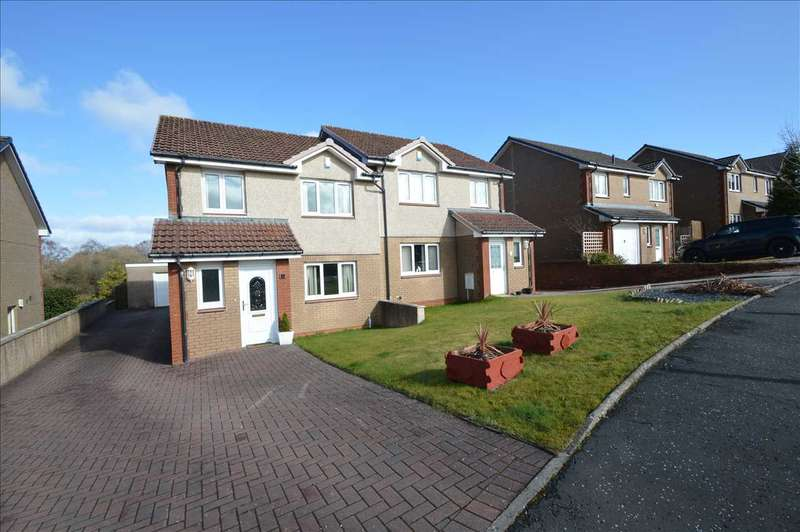 3 Bedrooms Semi Detached House for sale in Priory Lane, Lesmahagow