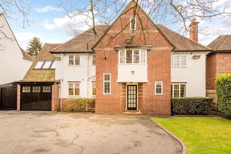 5 Bedrooms Detached House for sale in St Marys Road, Harborne, Birmingham, B17 0HA