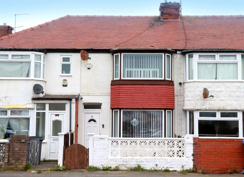2 Bedrooms Terraced House for sale in Southbank Avenue, Blackpool, Lancashire, FY4