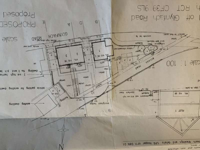 Land Commercial for sale in PLOTS 1,2,and 3, Porth