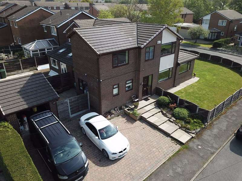 4 Bedrooms Semi Detached House for sale in Croft Acres, Bury, Greater Manchester, BL0