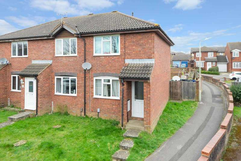 2 Bedrooms End Of Terrace House for sale in Drake Road, Willesborough, Ashford, TN24