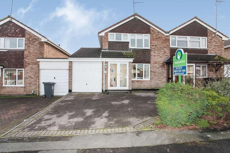 3 Bedrooms Semi Detached House for sale in Somerset Drive, Nuneaton, Warwickshire, CV10