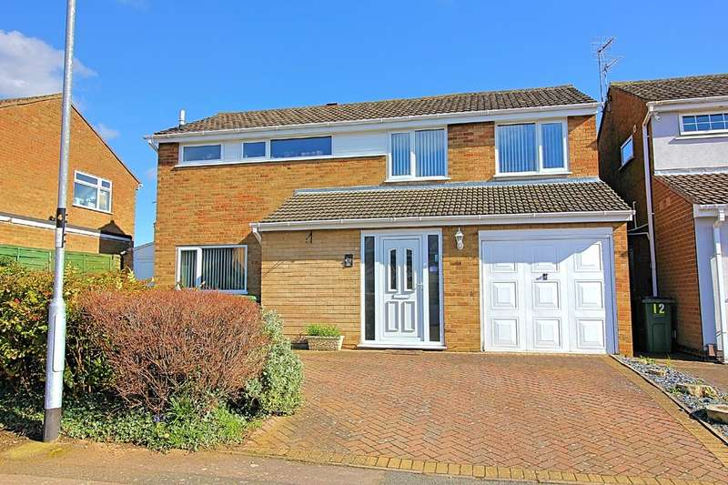 4 Bedrooms Detached House for sale in Georgeham Close, Wigston