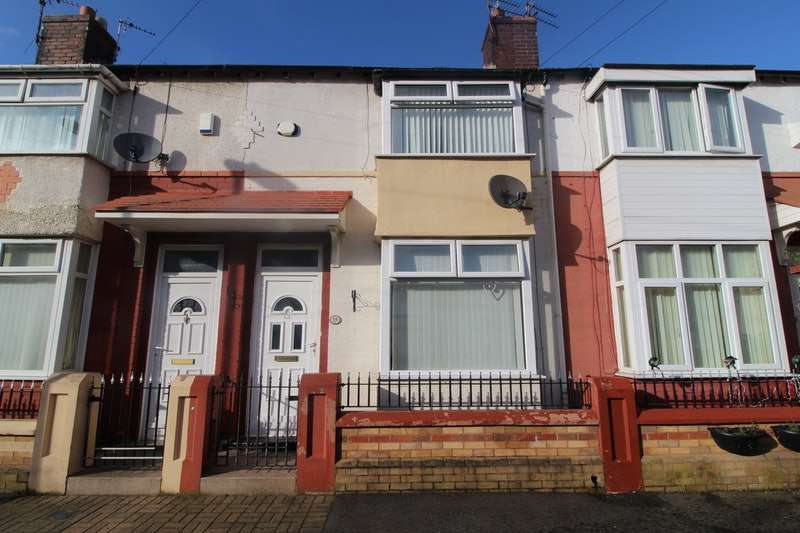 2 Bedrooms Terraced House for sale in Cheviot Road, Liverpool, Merseyside, L7
