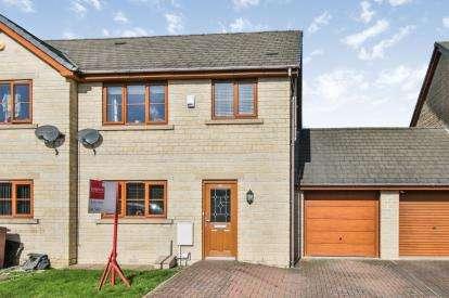 3 Bedrooms Semi Detached House for sale in Groveside Park, Burnley, Lancashire