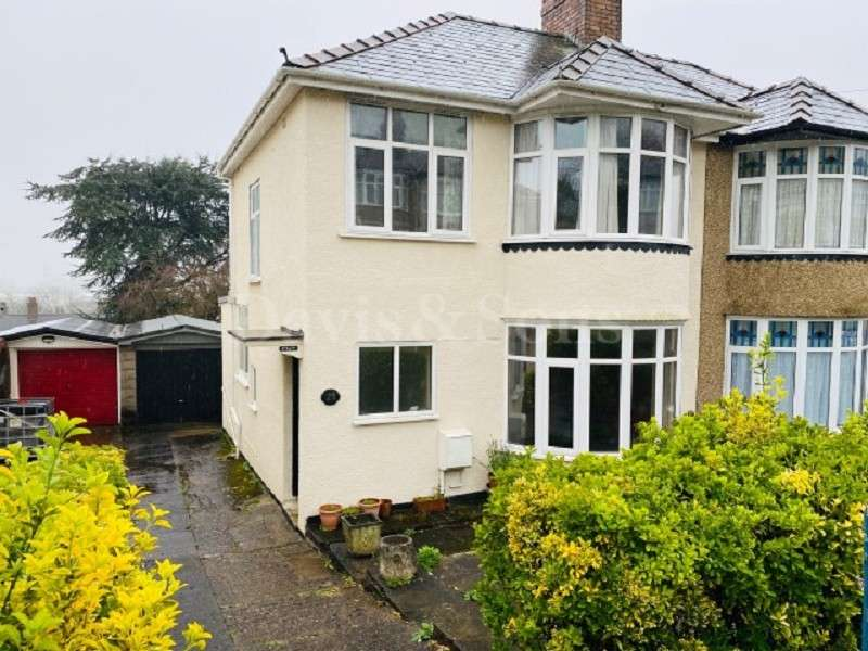 3 Bedrooms Semi Detached House for sale in Cae Brynton Road, Newport. NP20 3FY