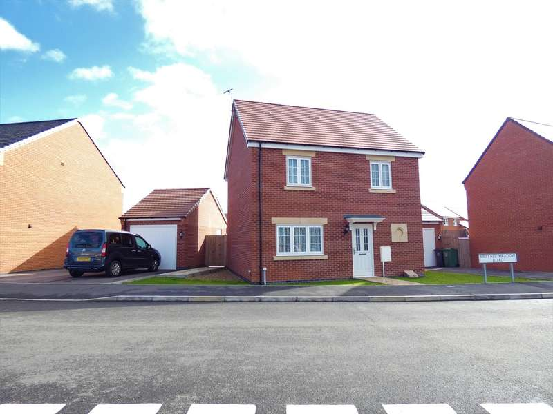 3 Bedrooms Detached House for sale in Birstall Meadow Road, Birstall, Leicester