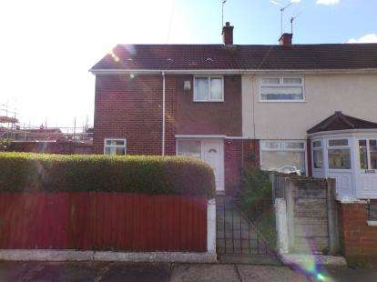 2 Bedrooms End Of Terrace House for sale in Edenhall Drive, Woolton, Liverpool, Merseyside, L25