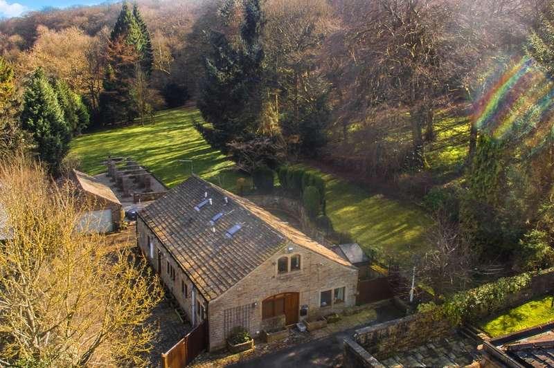 4 Bedrooms Detached House for sale in Corn Mill Bottom, Thunderbridge, Huddersfield