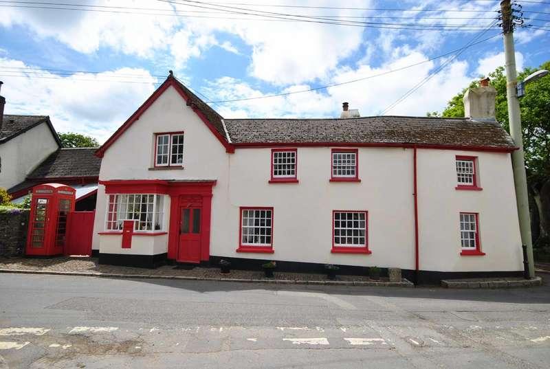 4 Bedrooms Detached House for sale in Burrington, Umberleigh, Devon, EX37