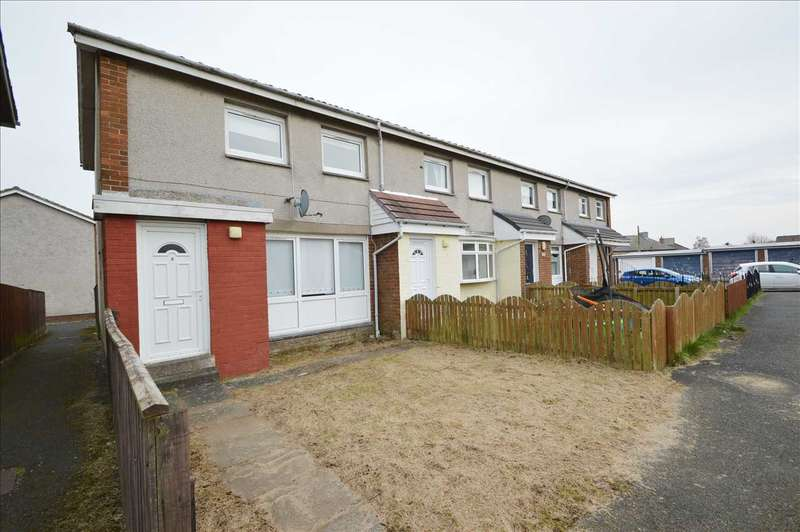 2 Bedrooms End Of Terrace House for sale in Dryburgh Way, Blantyre