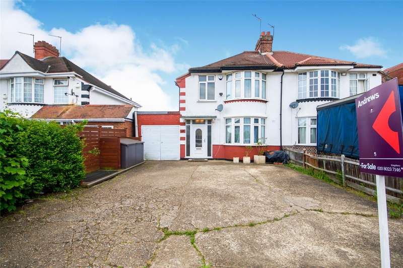 3 Bedrooms Semi Detached House for sale in Church Lane, KINGSBURY, NW9