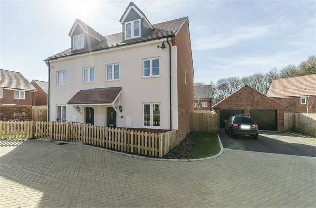 3 Bedrooms Semi Detached House for sale in Chiltern Crescent, Fair Oak, EASTLEIGH, Hampshire