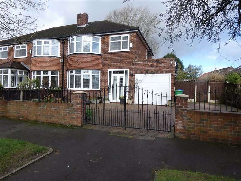 3 Bedrooms Semi Detached House for sale in Gresty Avenue, Peel Hall