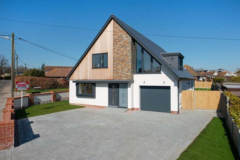 4 Bedrooms Detached House for sale in Millstrood Road, Whitstable