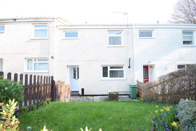 3 Bedrooms Terraced House for sale in Wye Court, Thornhill, Cwmbran, NP44