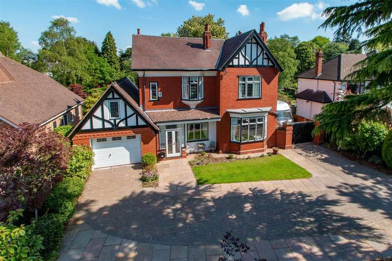 5 Bedrooms Detached House for sale in Manor Road, Cheadle Hulme, SK8 7DQ.