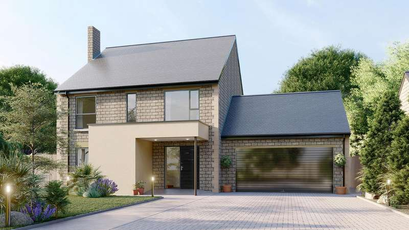 4 Bedrooms Detached House for sale in 4 Nightingale Close, Kelstedge, Ashover