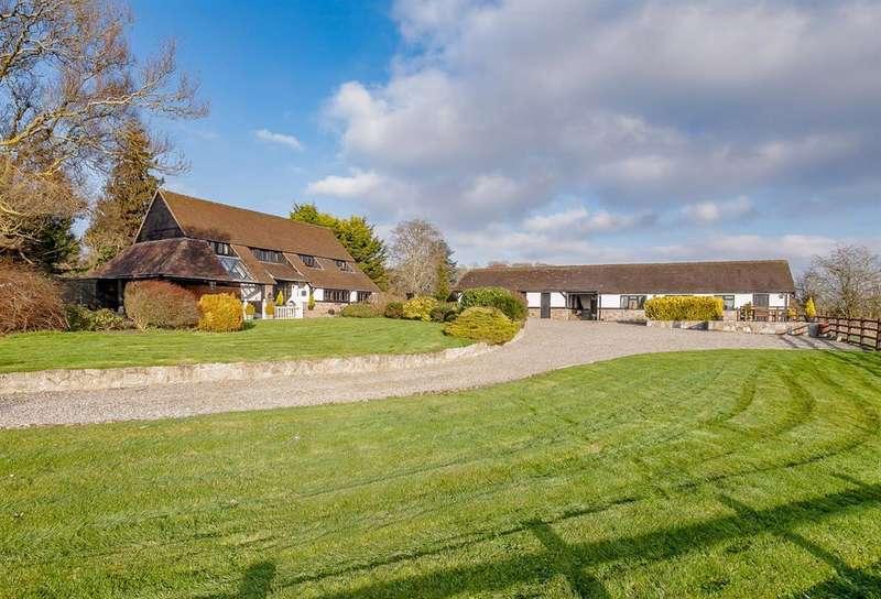 4 Bedrooms Detached House for sale in Brinsop Barn, Stretton Grandison, Ledbury, HR8 2TS