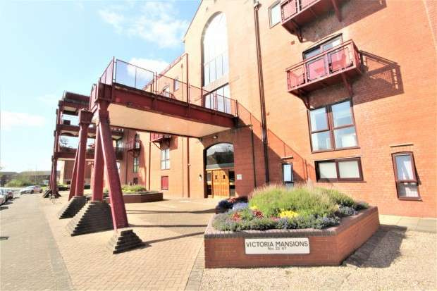 2 Bedrooms Apartment Flat for sale in Victoria Mansions Navigation Way, Preston, PR2