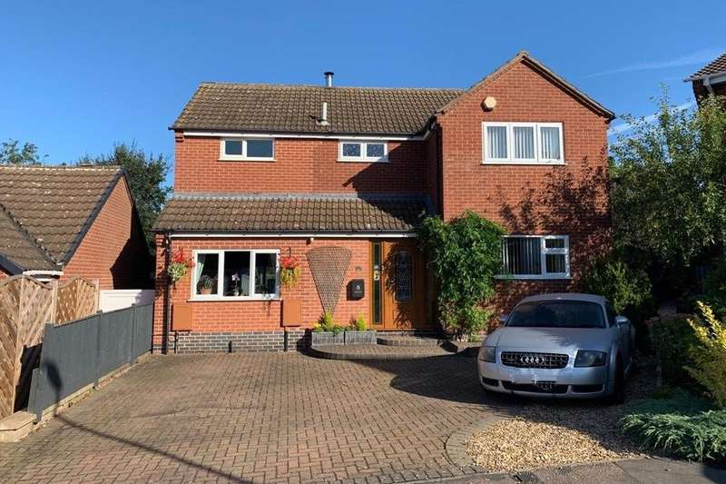 3 Bedrooms Detached House for sale in Dovedale Close, Melton Mowbray