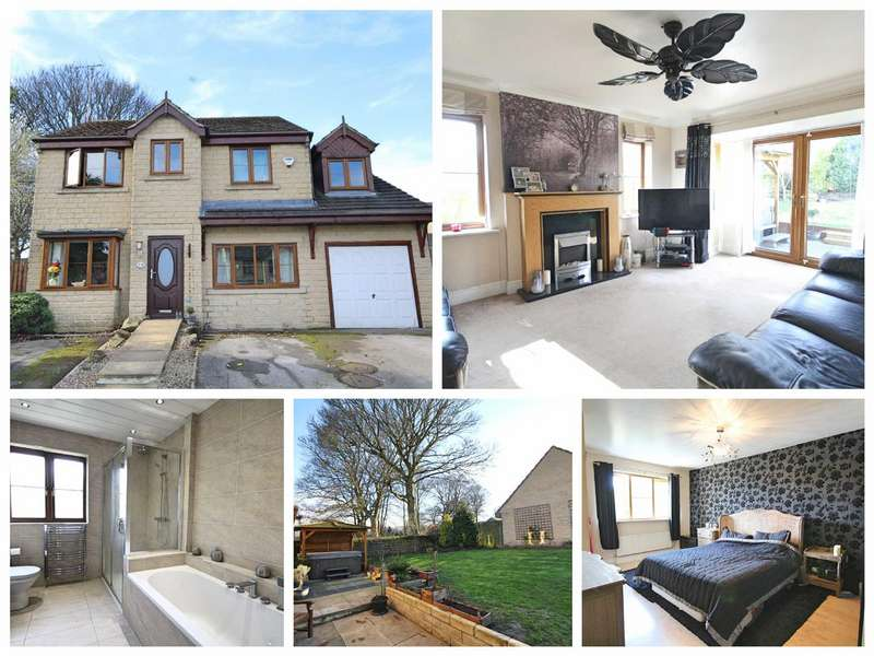 5 Bedrooms Detached House for sale in Scott Lane, Gomersal