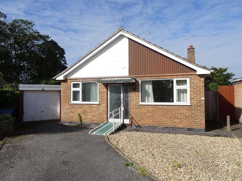 2 Bedrooms Detached Bungalow for sale in Orchard Close, West Hallam, Ilkeston
