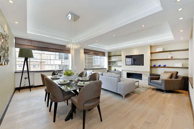 3 Bedrooms Flat for rent in Fursecroft, Marble Arch, London W1H