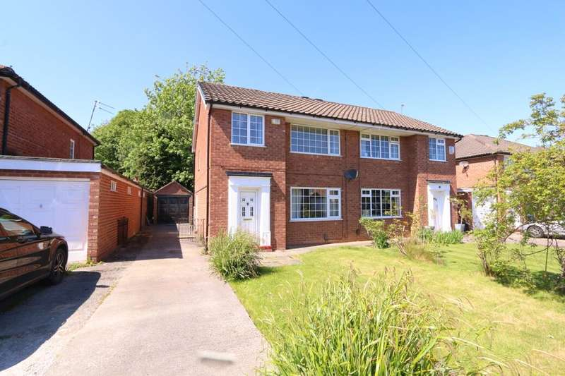 3 Bedrooms Semi Detached House for rent in Blenheim Road, Cheadle Hulme, Cheadle, SK8