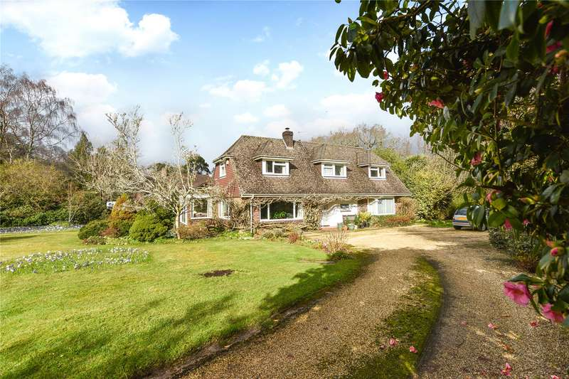 4 Bedrooms Detached House for sale in Armstrong Road, Brockenhurst, Hampshire, SO42