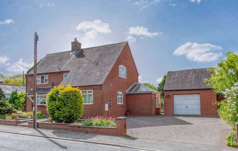 3 Bedrooms Detached House for sale in Droitwich Road, Feckenham, Redditch, B96 6JE