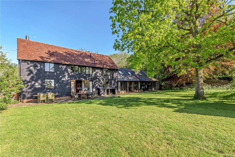 6 Bedrooms Detached House for sale in Hungry Hall Lane, Long Melford, Sudbury, Suffolk, CO10